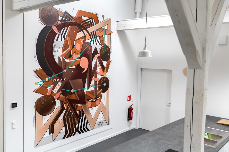 Vidam Mural at Urban Nation