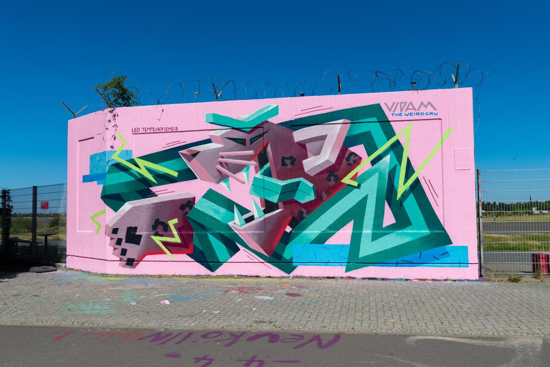 Vidam Tempelhof Mural