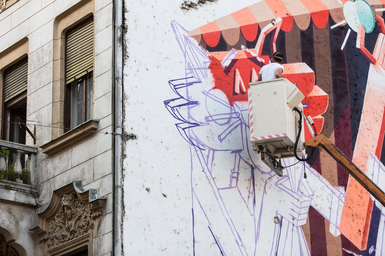 Vidam Mural Budapest