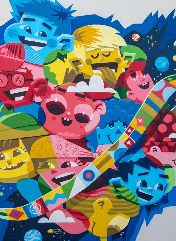 Sternengarten Mural