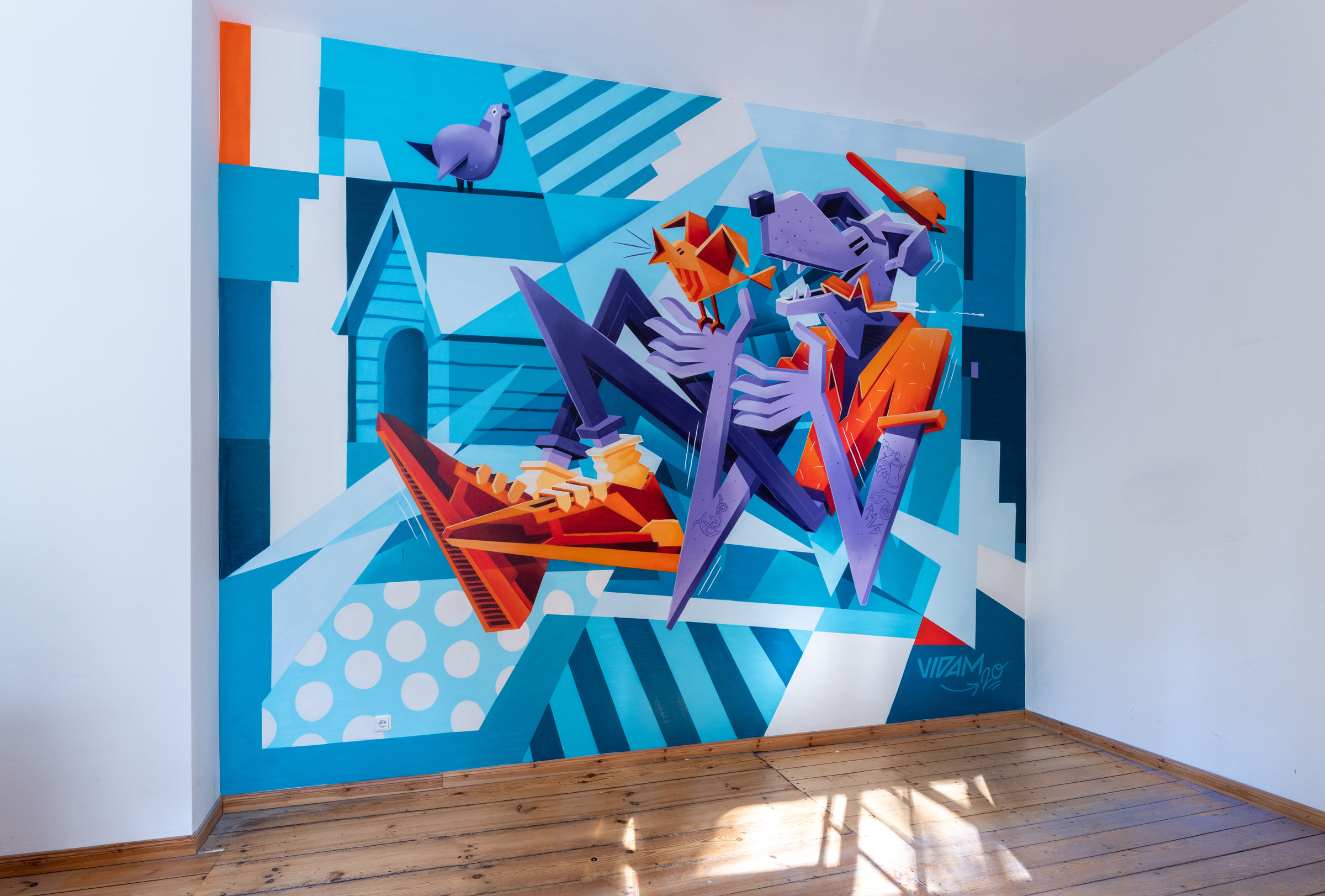 Vidam for Book a Streetartist