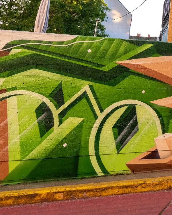 HRMN Box Mural