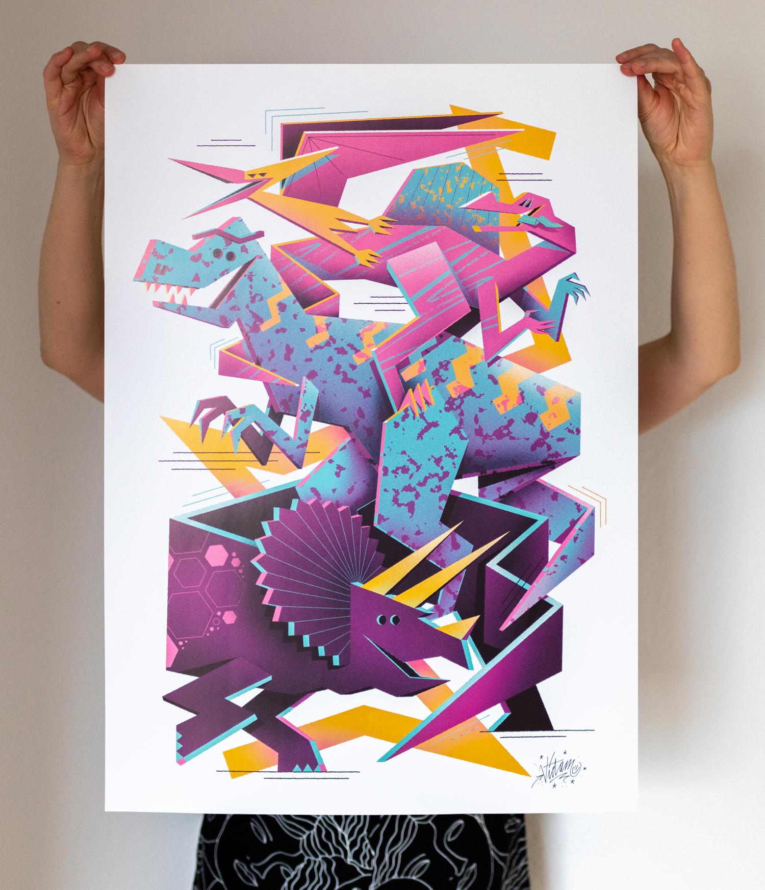 Vidam Dinos Print